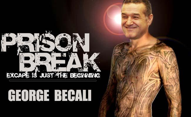 Prison  Break - invitat special - gigi Becali