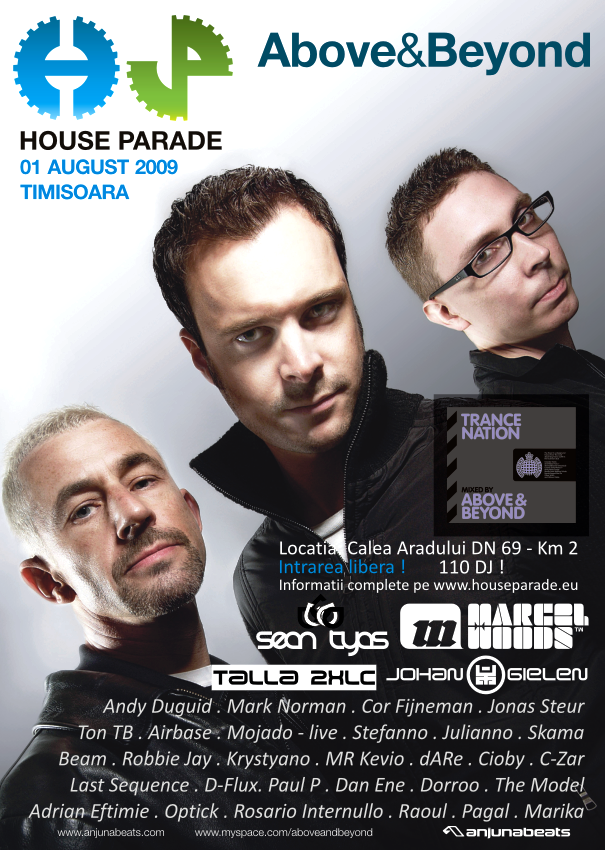 House Parade 2009 - poster